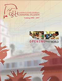 2006-2007 University Catalog cover - Opening Doors to the World