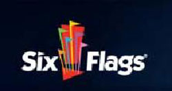 Six Flags Amusement Park Logo