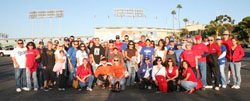 Alumni and Friends at Dodger Stadium