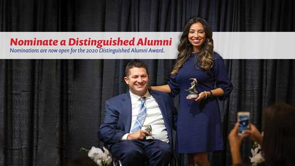 Nominate a Distinguished Alumni