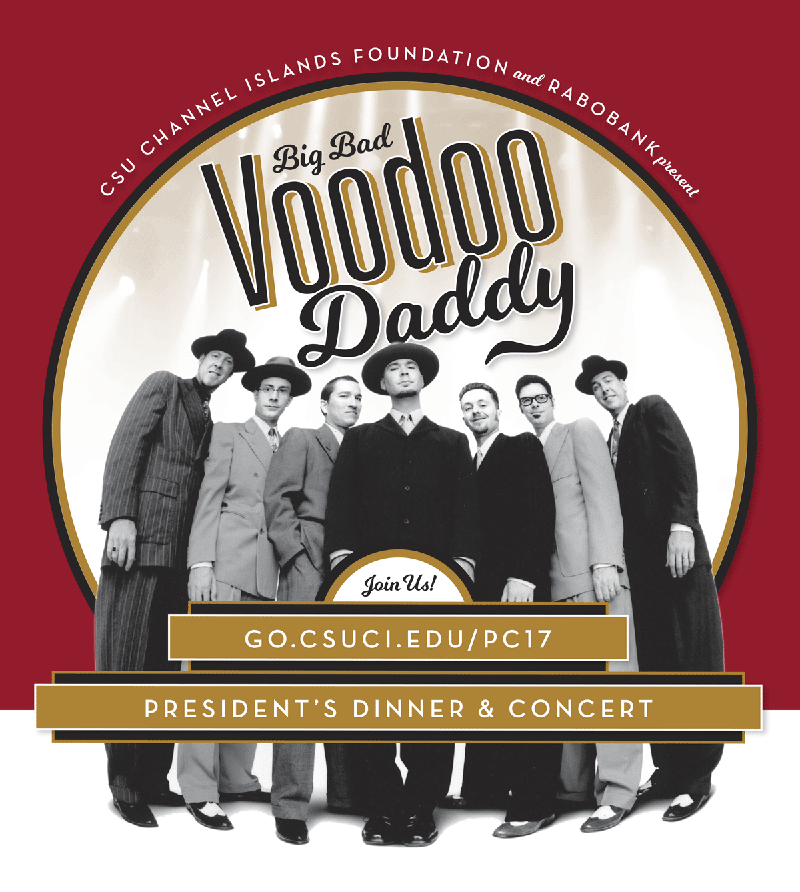 President's Dinner & Concert featuring Big Bad Voodoo Daddy
