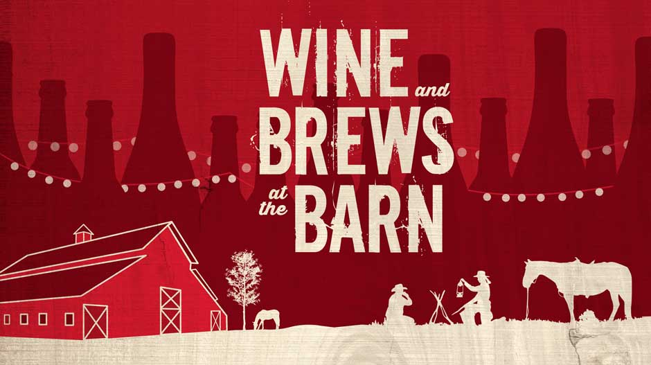 Wine brews and barn