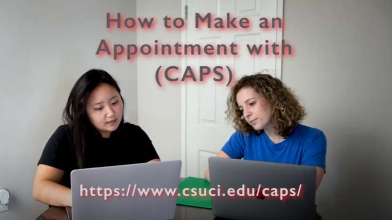 How Make an Appointment with Counseling and Psychological Services (CAPS