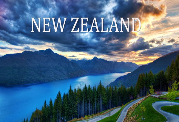 landscape view of New Zealand