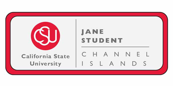 Student name tag