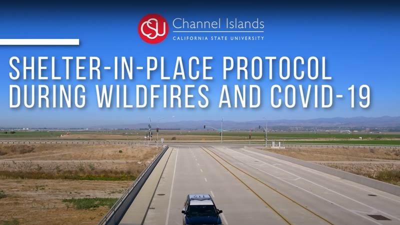 Shelter-In-Place Protocol During Wildfires and COVID-19