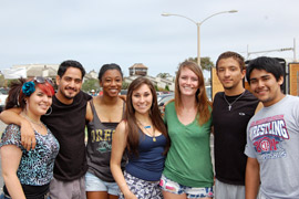 Photo of EOP students.