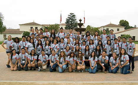 Group photo of the 2013 EOP students.
