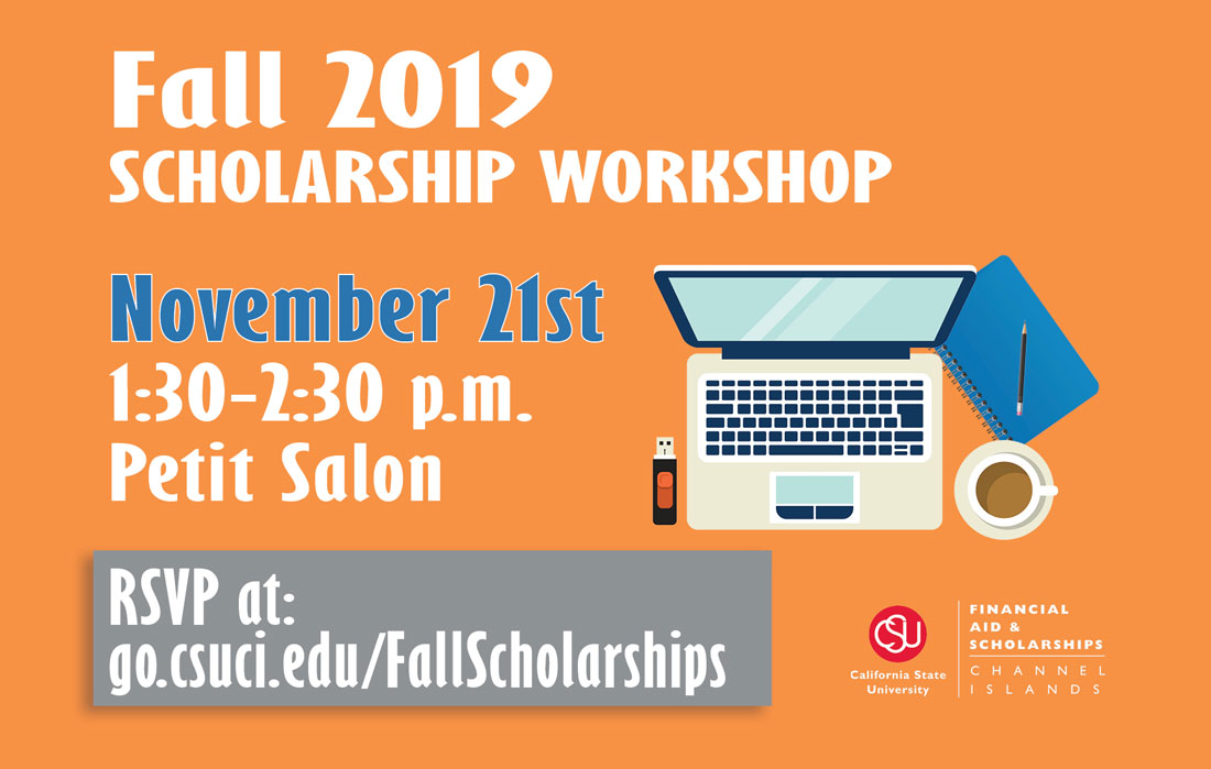 Sign up for Scholarship Workshop