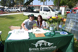 Green Generation Club table
