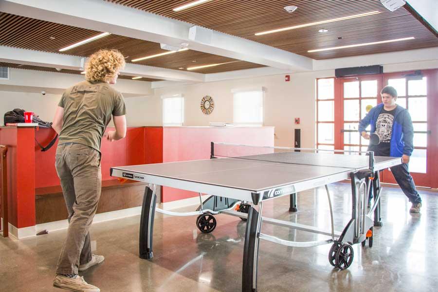 ... Santa Rosa Community Living Room   Ping Pong Table ...