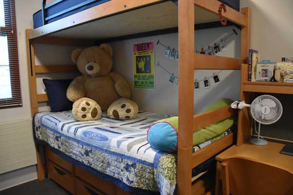 Bunked Bed Side View