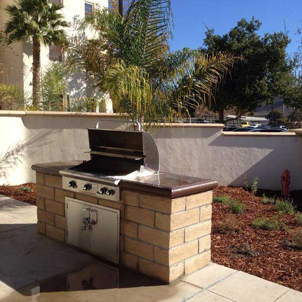 Built-In-BBQ Area