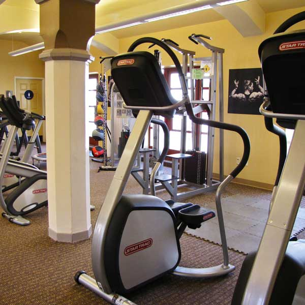 Exercise Room - Aerobics & Weight Equipment
