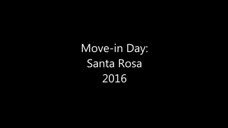 View Video: CSUCI Santa Rosa Village Move In Day 2016