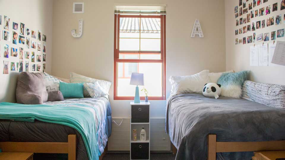 Dorm Room Cute Blue