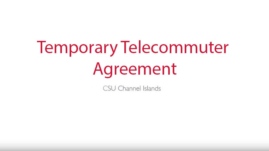 Telecommuter Agreement in adobe sign