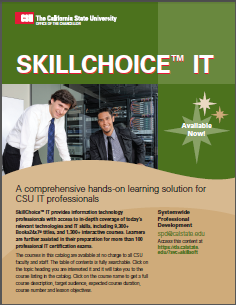 Skillchoice IT Catalog