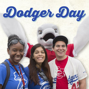 Join your Alumni and Friends for the 16th annual Dodger Day!