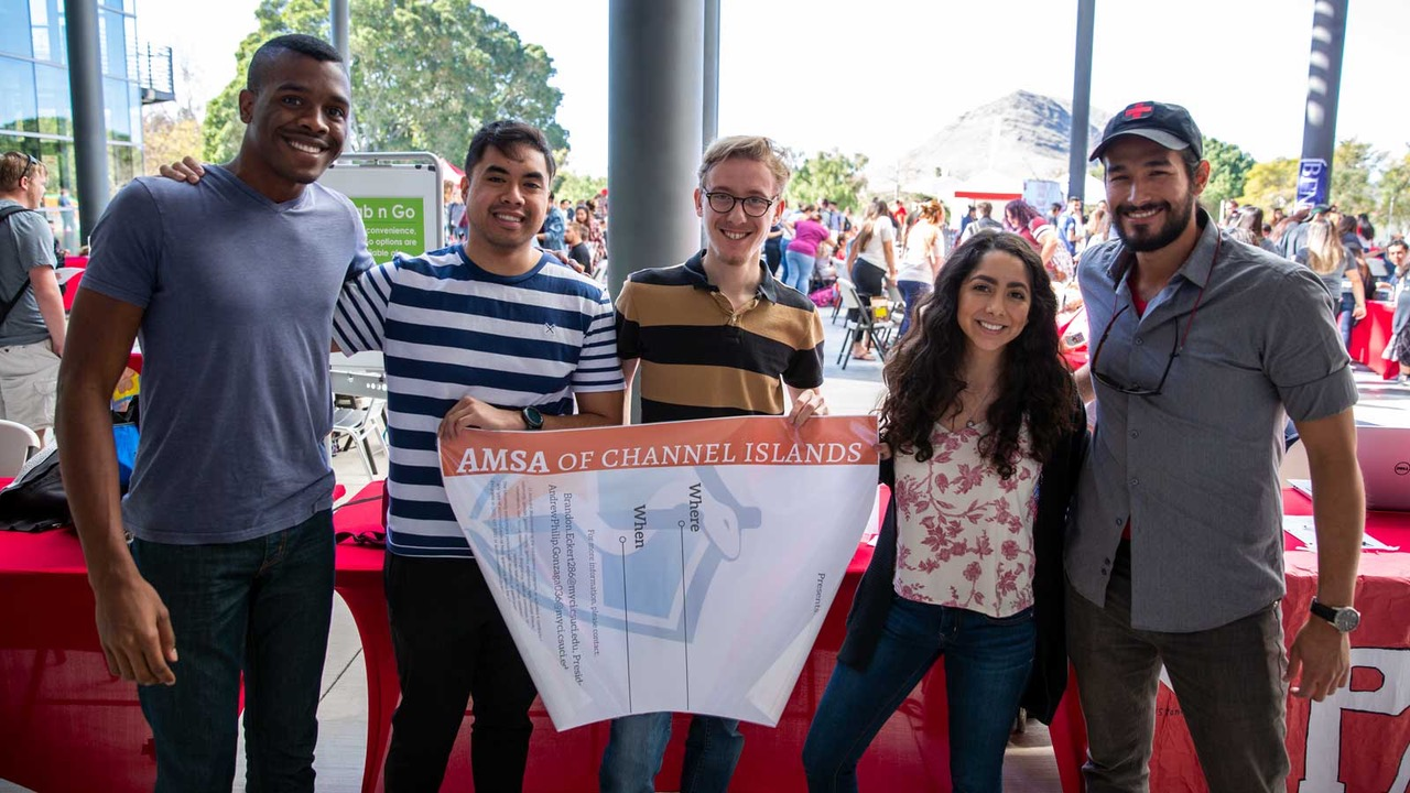 The American Medical Student Association CI is one of 80 student organizations at CSUCI