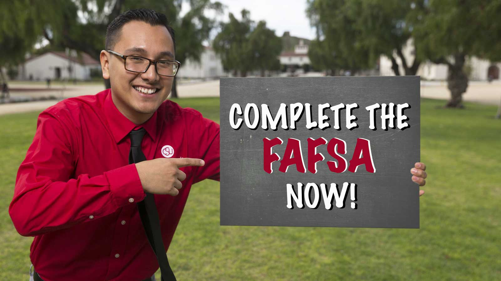 Complete the FAFSA now!