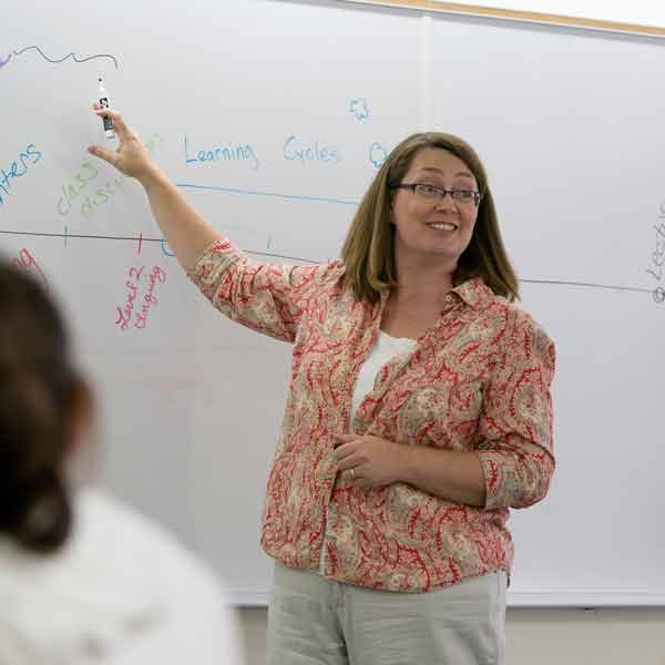 Jeanne Grier teaching