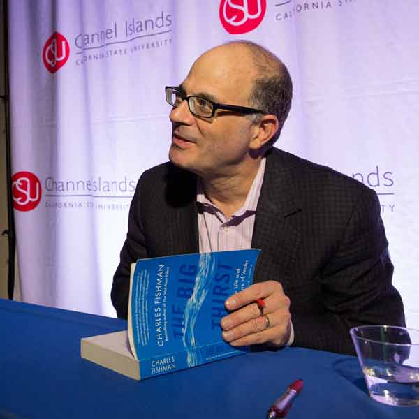 Author Charles Fishman