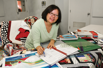 Kathy Musashi guides courses from concept to catalog.