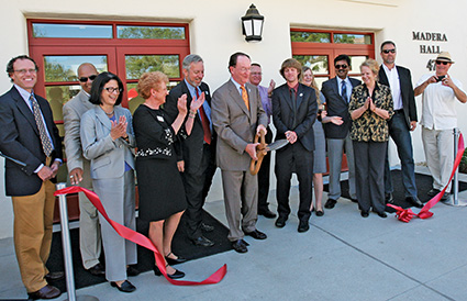 Del Norte and Madera Halls ribbon cutting