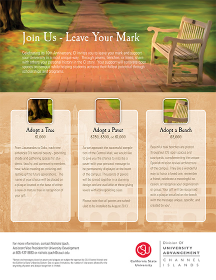 Leave Your Mark campaign details