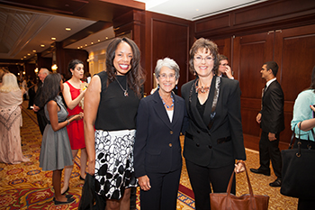 From left: Ventura County Community College District Chancellor Jamilah Moore, Senator Hannah-Beth Jackson, Provost Gayle Hutchinson