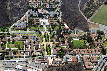 2013 aerial view of CI campus