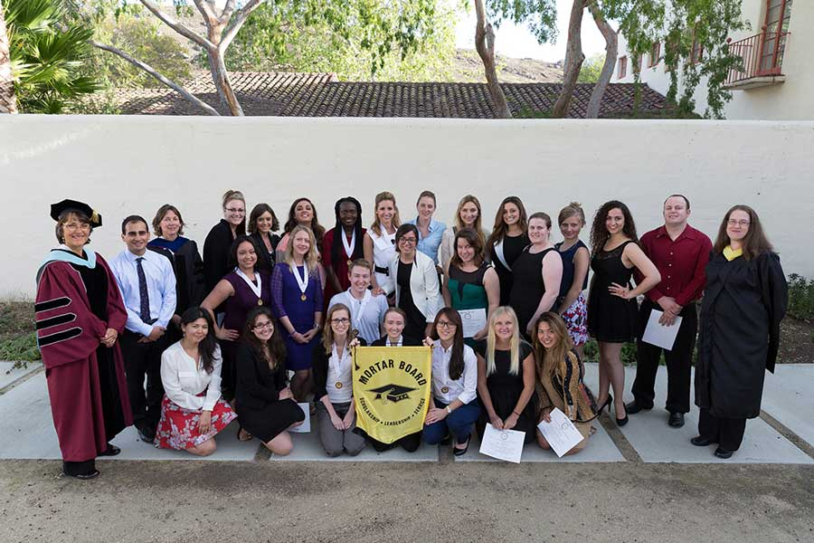 Mortarboard chapter wins national award
