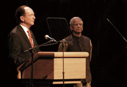 President Rush and Professor Yunus