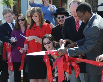 New student union ribbon-cutting ceremony