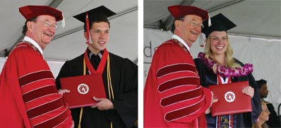 presidents scholars graduates jones and tacke