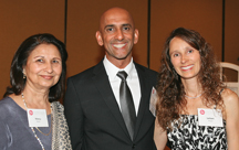 Honoree Umrao Mayer and family