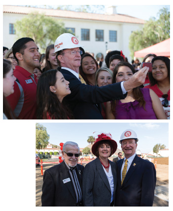 Sierra Hall groundbreaking