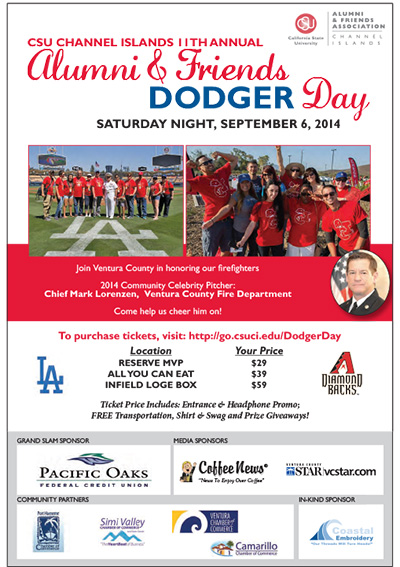 A&FA Dodger Day event information