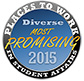 Seal of Most Promising Places to Work in Student Affairs award