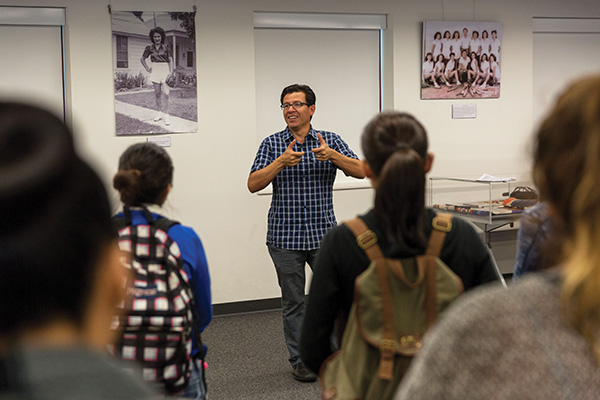 Jose Alamillo explains the history of Mexican-American baseball in Ventura County.