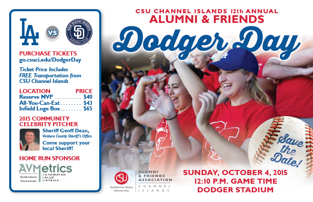 Alumni & Friends Dodger Day event