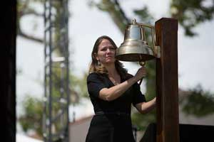 Ringing of the Navy Bell, Melissa J. Remotti, afternoon ceremony