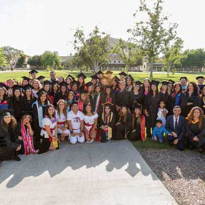 Group of CSUCI graduating students.