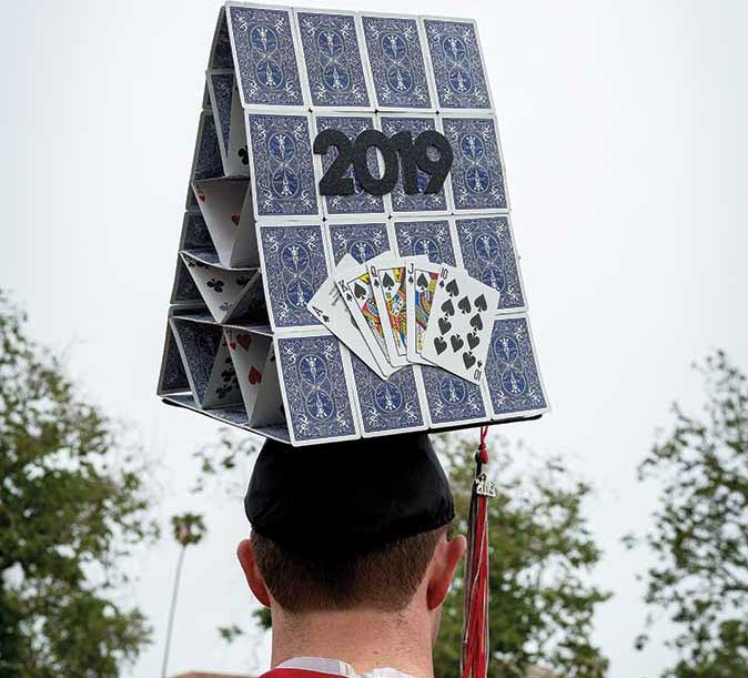 A creative mortarboard