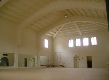 The previous look of what is now the dining area for CSUCI