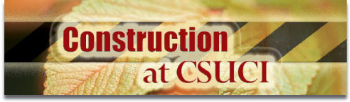 graphic displaying the text construction at csuci