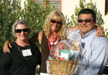 board member leah lacyo, parent gladys weiss, and board member bert partida