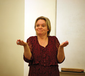 professor ivona grzegorcyk teaching at csuci.