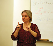 professor ivona grzegorczyk teaching at csuci.